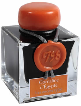 Jacques Herbin Cornaline d'Egypte Fouintain Pen Ink by Herbin