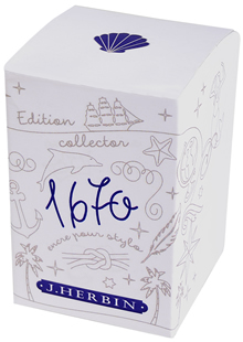 Ocean Blue 1670 Anniversary Ink by J. Herbin